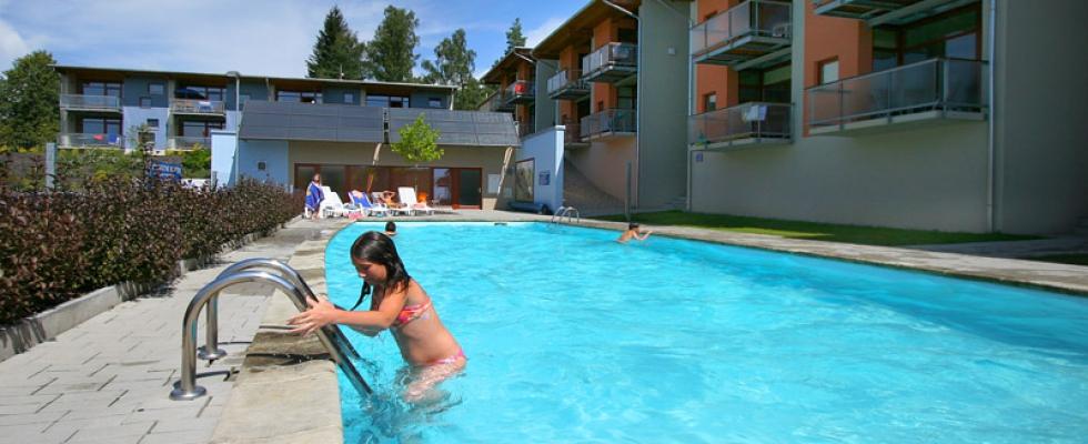 Ubytování s bazénem Lipno