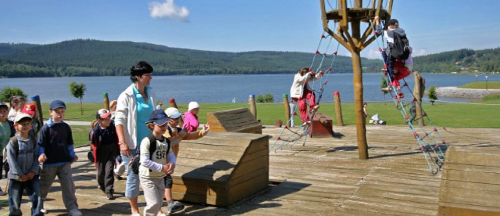 Dovolená s dětmi u přehrady Lipno