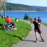 Jezerní in-line stezka Lipno | ráj in-line bruslení a cyklistiky