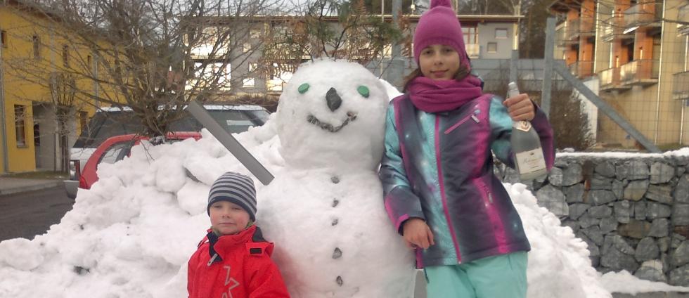 Zimní dovolená na Lipně